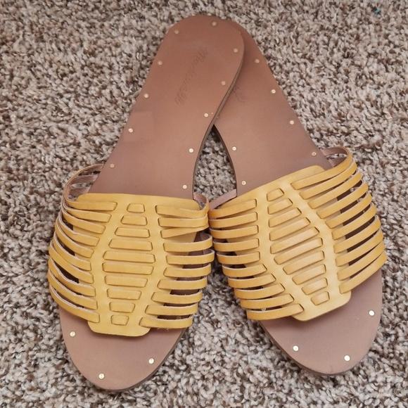 Madewell Shoes   Madewell Yellow Willa